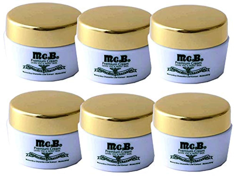 理容師一時的伝統マックビー プレミアム クリーム【6個セット】Premium Cream 平戸ツルレイシ