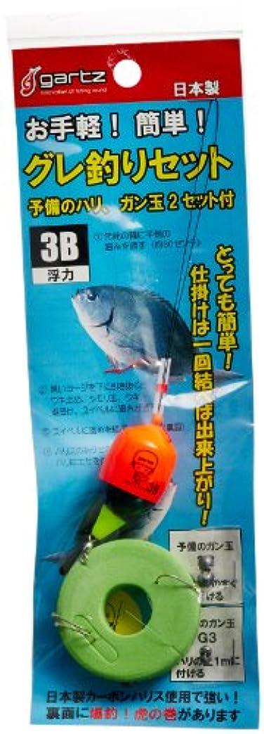 ゆるい抽象化シェトランド諸島ガルツ(gartz) グレ釣リセット 3B/オレンジ