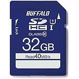 BUFFALO UHS-I Class1 SDカード 32GB RSDC-032GU1S