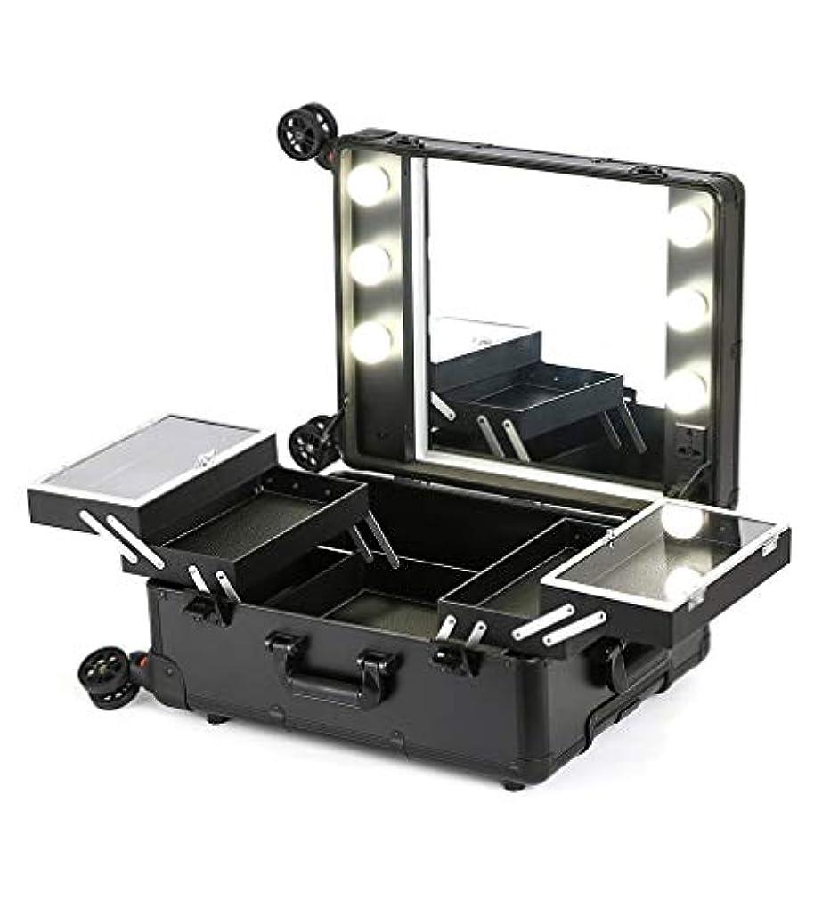 ひどくループ滑るプロの化粧箱ラバレッジライトミラーのプロ化粧箱
