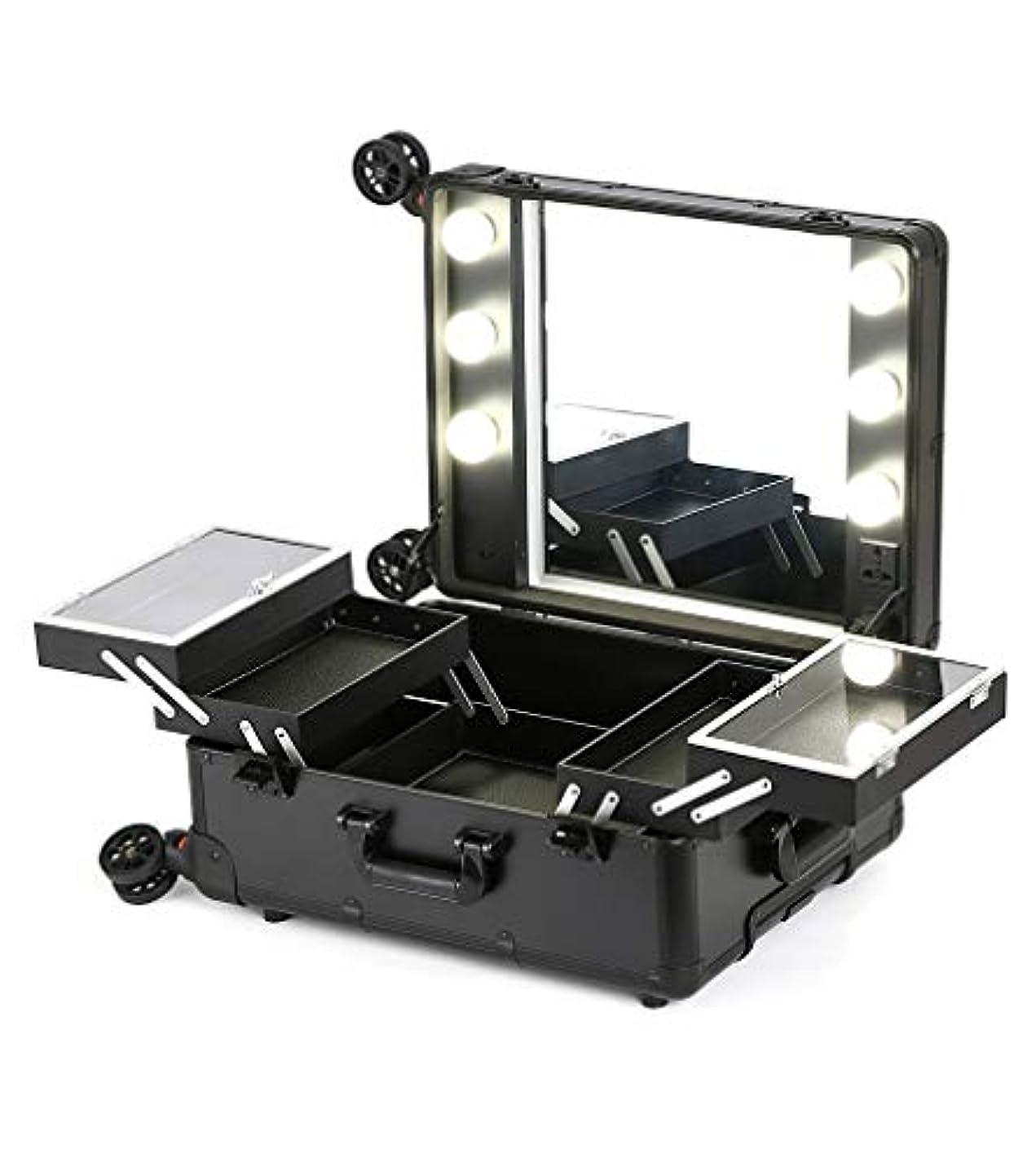 テロ交通あえぎプロの化粧箱ラバレッジライトミラーのプロ化粧箱