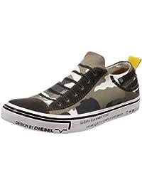 (ディーゼル) DIESEL ユニセックス スニーカー DIESEL IMAGINEE S-IMAGINEE LOW SLIP-ON - sneakers Y01700P1640