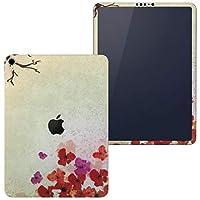 igsticker iPad Pro 12.9 inch インチ 専用 apple アップル アイパッド 2018 第3世代 A1876 A1895 A1983 A2014 全面スキンシール フル 背面 側面 正面 液晶 タブレットケース ステッカー タブレット 保護シール 人気 和柄 和風 花 004962