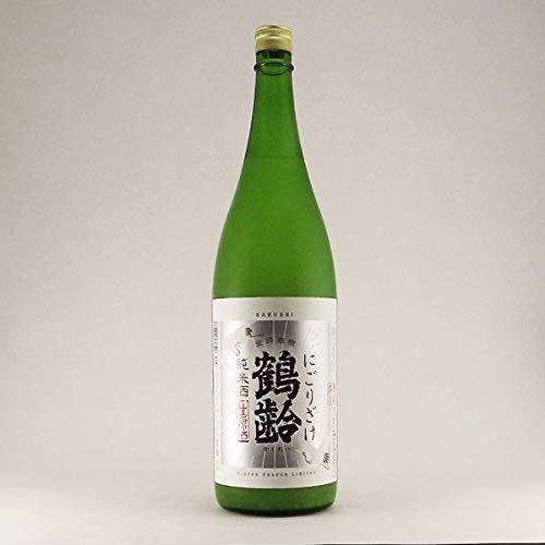青木酒造 鶴齢 純米酒にごり酒 1800ml(化粧箱無し)