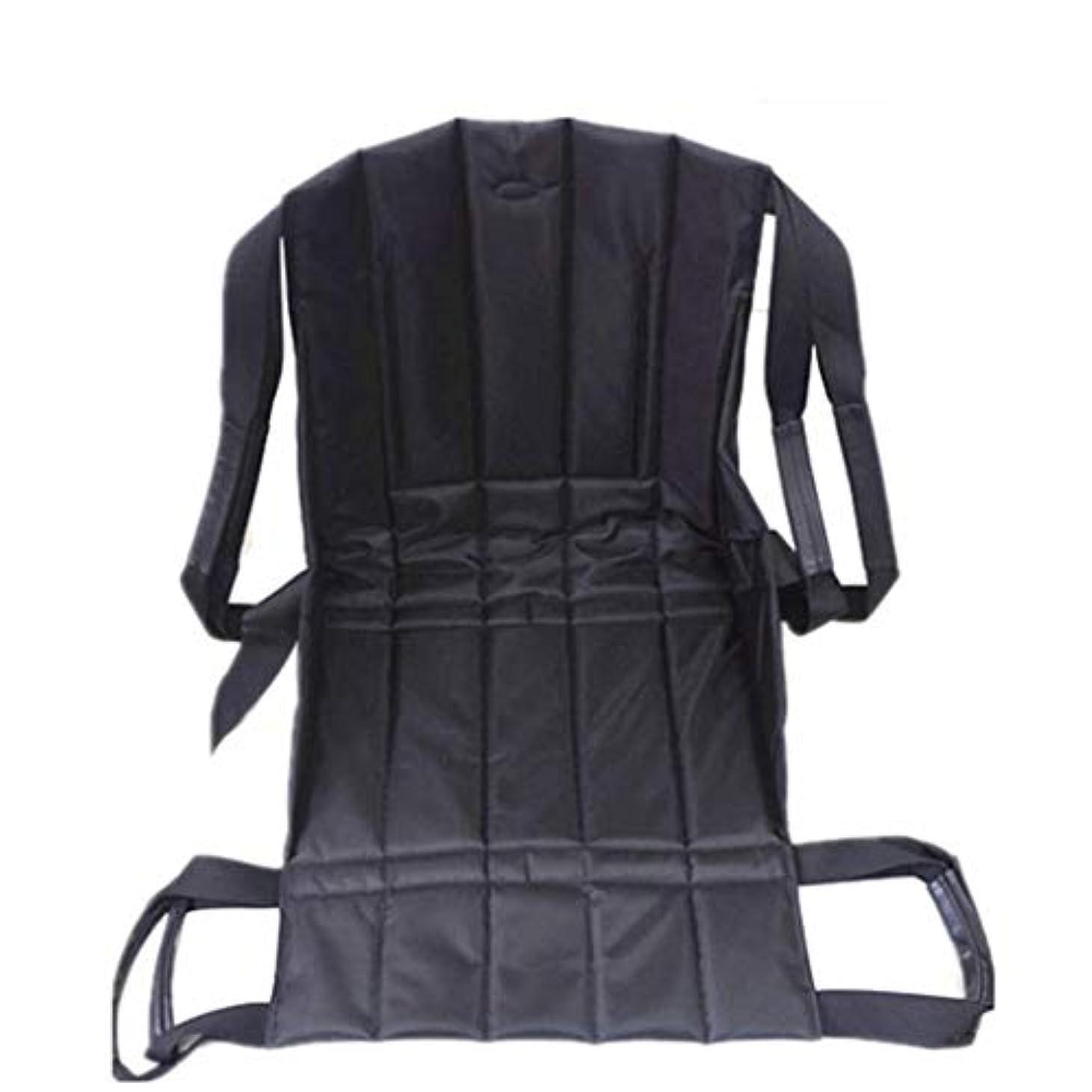 理容室不変分散患者リフト階段スライドボード移動緊急避難用椅子車椅子シートベルト安全全身医療用リフティングスリングスライディング移動ディスク使用高齢者用