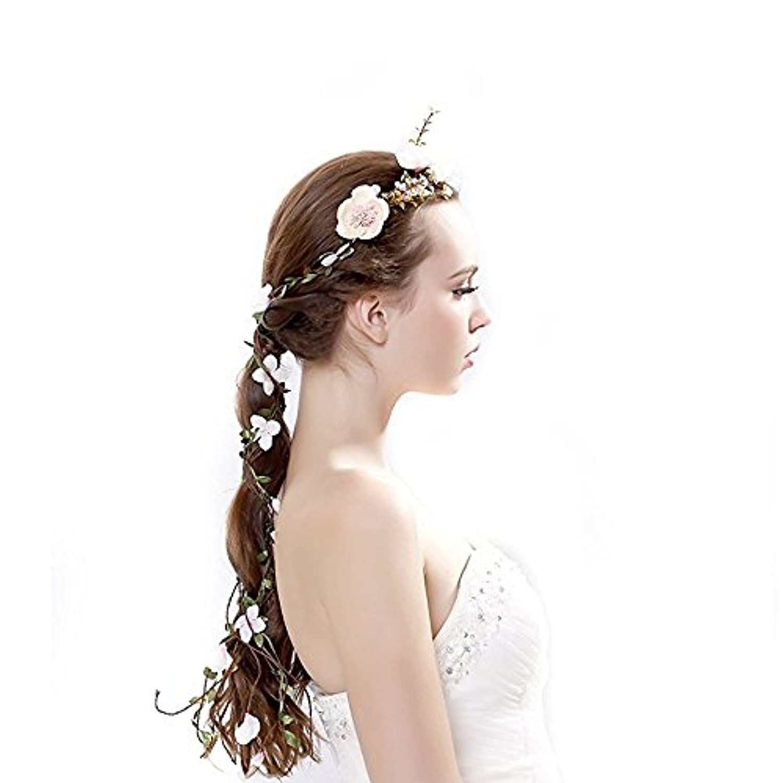 Ever Fairy 花冠ラプンツェル系髪飾り北欧 新婦人 花嫁 おもてなしブライダル 花冠 フラワー ウェディング ヘッドドレス 造花 花飾り 花輪 結婚式 イベント パーティー ブライダルの花輪 の花輪ンド ヨーロッパスタイル