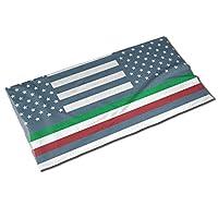 イタリア国旗星 ユニセックス普通のバラエティスカーフヘッドスカーフスカーフフェイスマスクヘッドバンドキャップ帽子バンダナスポーツヘッドスカーフ