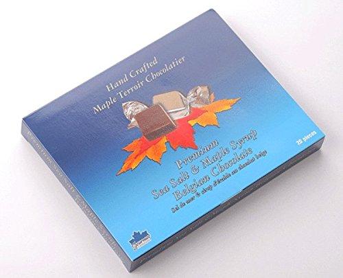 グルメカナディアーナ カナダお土産 シーソルト&ピュアメープルシロップチョコレート 140g20粒入り 1箱