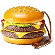 ダブルクォーターパウンダー・チーズ 【McDonald's FOOD STRAP】マクドナルド フードストラップ【02】