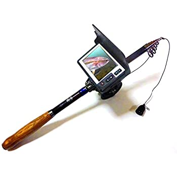 正規品 水中の見える釣竿BIGCATCH 録画機能付ビッグキャッチ LQ-3505DFL 釣るとこみるぞうくん 鉄腕ダッシュでお馴染み 水中カメラ 竿 ロッド