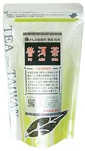 久順銘茶 陳さんの自信作 熟成15年プーアル茶 80g
