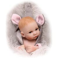 フルシリコンBaby Dolls Real Looking Girl 11