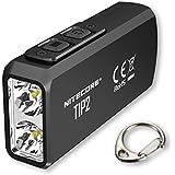 NITECORE TIP2 NITECORE TIP2 720 Lumen USB Rechargeable Keychain Flashlight, Youth-Unisex