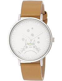 [アルバ]ALBA 腕時計 ALBA 大人ジブリ となりのトトロ 白文字盤 ブラウン革バンド ACCK412