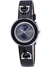[グッチ]GUCCI 腕時計 Uプレイ ブラック文字盤  エナメル革ベルト YA129513 レディース 【並行輸入品】