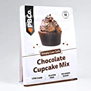 PBCo. Low Carb Chocolate Cupcake Mix - 220g