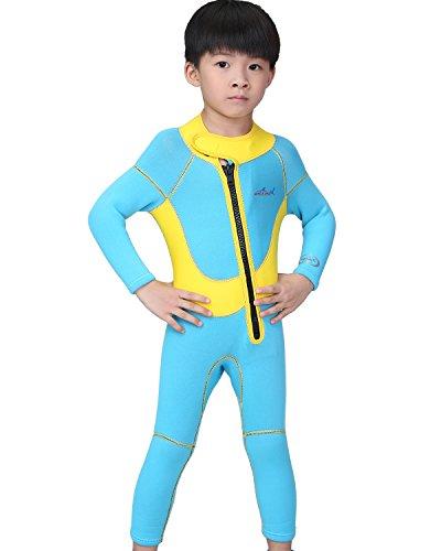 [해외]2.5MM 어린이 잠수복 2.5 mm 방한 보온 연체 전체 벌 남녀 겸용 긴팔 어린이 다이빙/2.5MM Children`s Wet Suit 2.5mm Cool Insulated Freshwater Long Sleeve Kids Diving