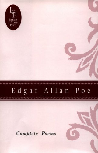 Download Edgar Allan Poe: Complete Poems (Library of Classic Poets) 0517082454