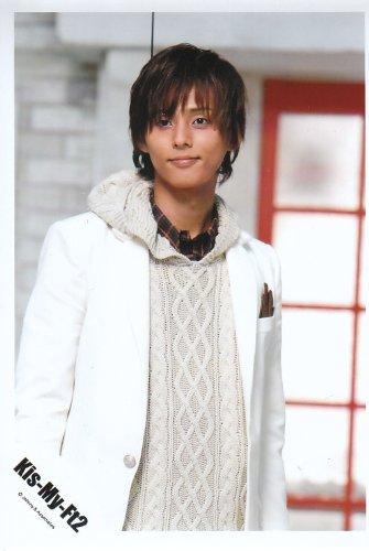 Kis-My-Ft2 キスマイ グッズ キラキラマスコット ピンク 藤ヶ谷太輔 くんカラー + 公式生写真