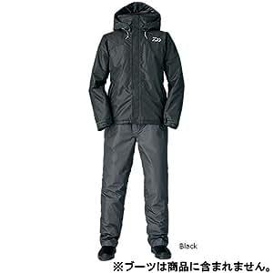 ダイワ  レインマックス ハイロフト ウィンタースーツ DW-3505 ブラック 2XL