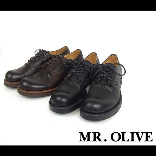 【MROLIVE(ミスターオリーブ)】ウォータープルーフポストマンブーツ 8 1/2 (M)サイズ ブラウン