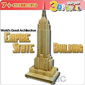 【3Dパズル】 エンパイヤーステートビル USA