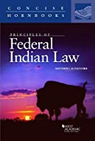 Principles of Federal Indian Law (Concise Hornbook)