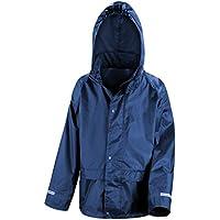 Result Childrens/Kids Core Junior Stormdri Rain Over Jacket
