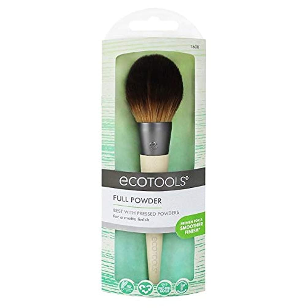 溢れんばかりのレイアウトつらいEcotools Cruelty Free and Eco Friendly Full Powder Brush Made With Recycled Aluminum Materials and Bamboo Fibers...