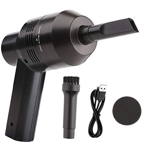 Dealsboom ミニ掃除機 USB充電式ミニクリーナー キーボード掃除機 USB給電 2000m...