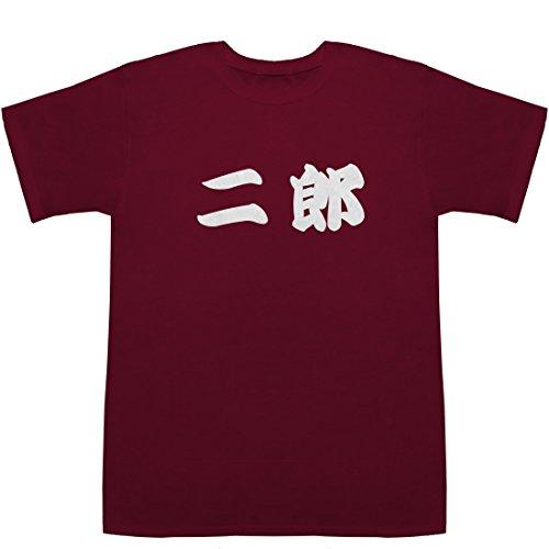 二郎 じろう Jiro T-shirts ワイン M【二郎 一之江】【二郎 インスパイア ランキング】