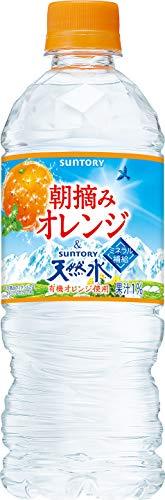 朝摘みオレンジ&南アルプスの天然水 540ml ×24本