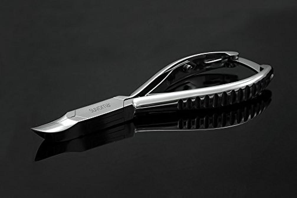 罪悪感人工キウイスヴォルナ プロ仕様 5.5インチ (14センチ) ペディキュア 分厚い足の爪 ニッパー 曲面顎 & バックロック 3109 (インポート)