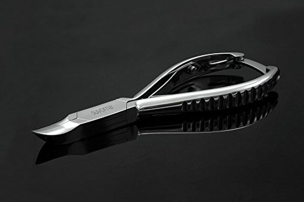 電信トロピカル官僚スヴォルナ プロ仕様 5.5インチ (14センチ) ペディキュア 分厚い足の爪 ニッパー 曲面顎 & バックロック 3109 (インポート)