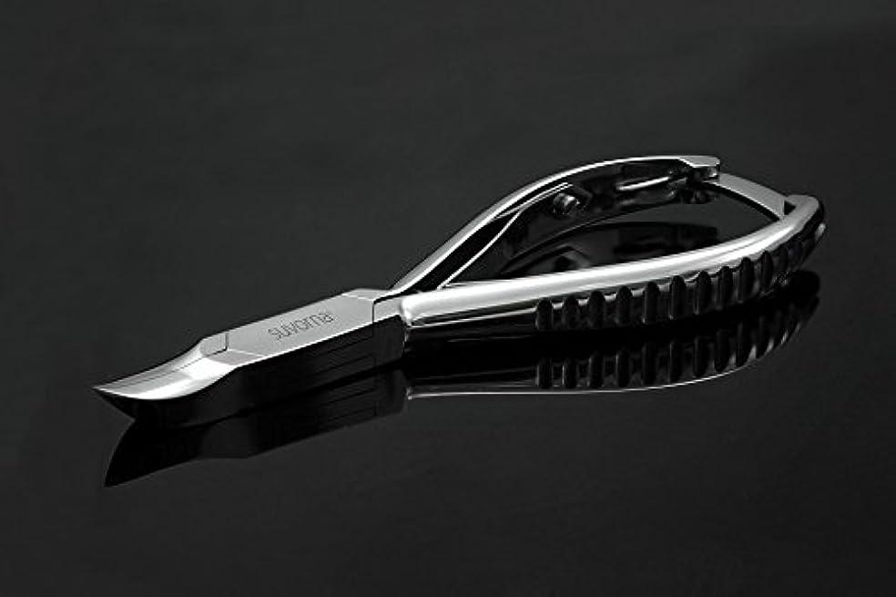 毛細血管大型トラック痛いスヴォルナ プロ仕様 5.5インチ (14センチ) ペディキュア 分厚い足の爪 ニッパー 曲面顎 & バックロック 3109 (インポート)