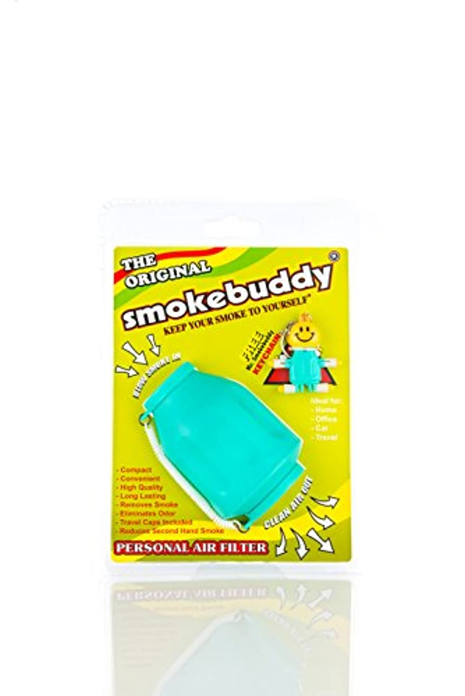 アメリカ透けて見えるアプトSmoke Buddy - Personal Air Filter/ Purifier Brand New - Teal by smokebuddy