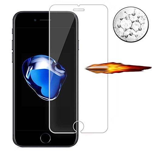 iPhone8 Plus フィルム,【薄0.15mm】iPhone 8 Plusガラスフィルム 保護フィルム 旭硝子