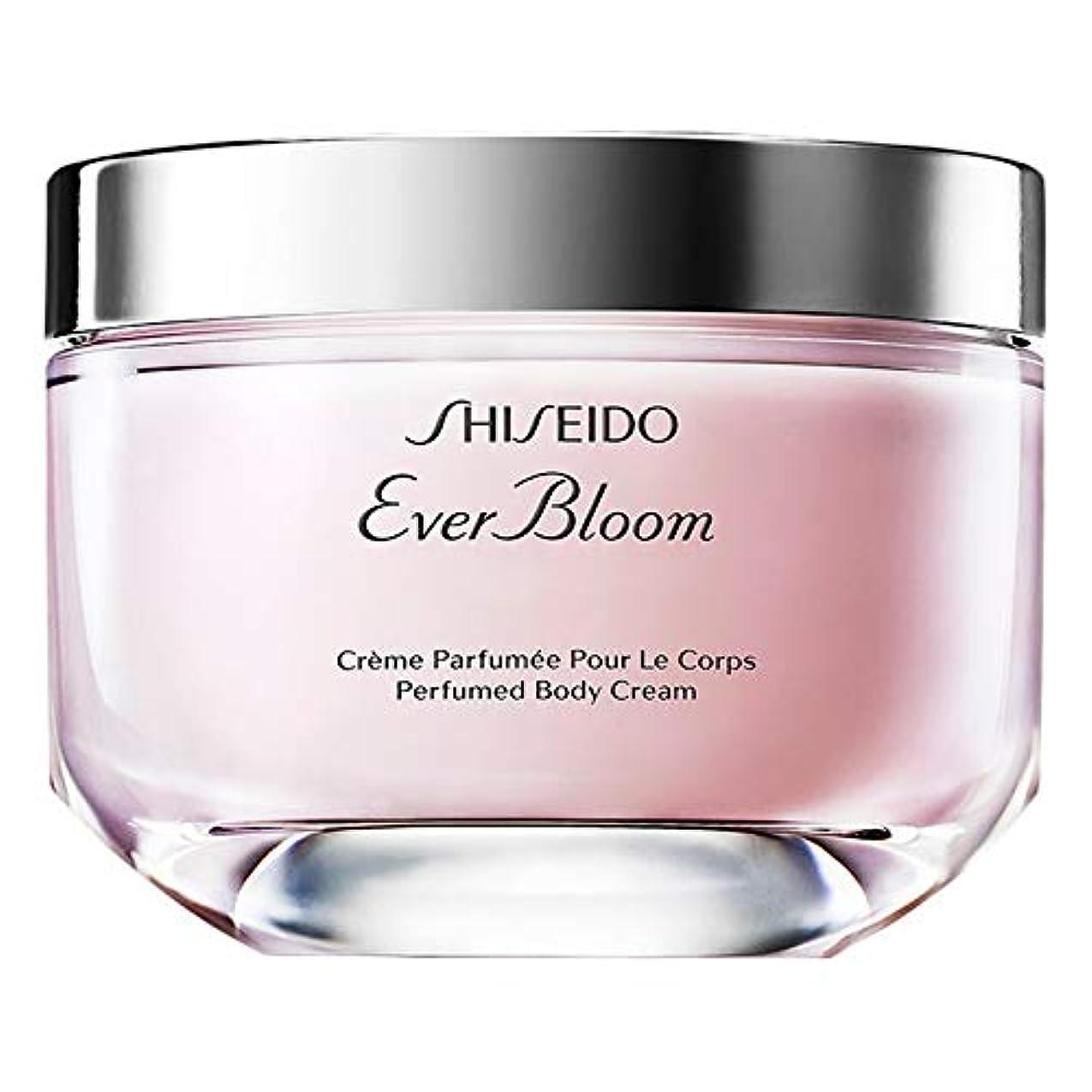 ロボット条件付きパーク[Shiseido] 資生堂は、これまで香りのボディクリーム200ミリリットルを咲かせ - Shiseido Ever Bloom Perfumed Body Cream 200ml [並行輸入品]