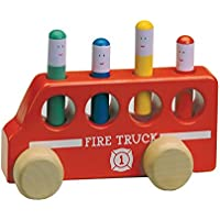 Pop Up Fire Truckおもちゃクリスマスギフト