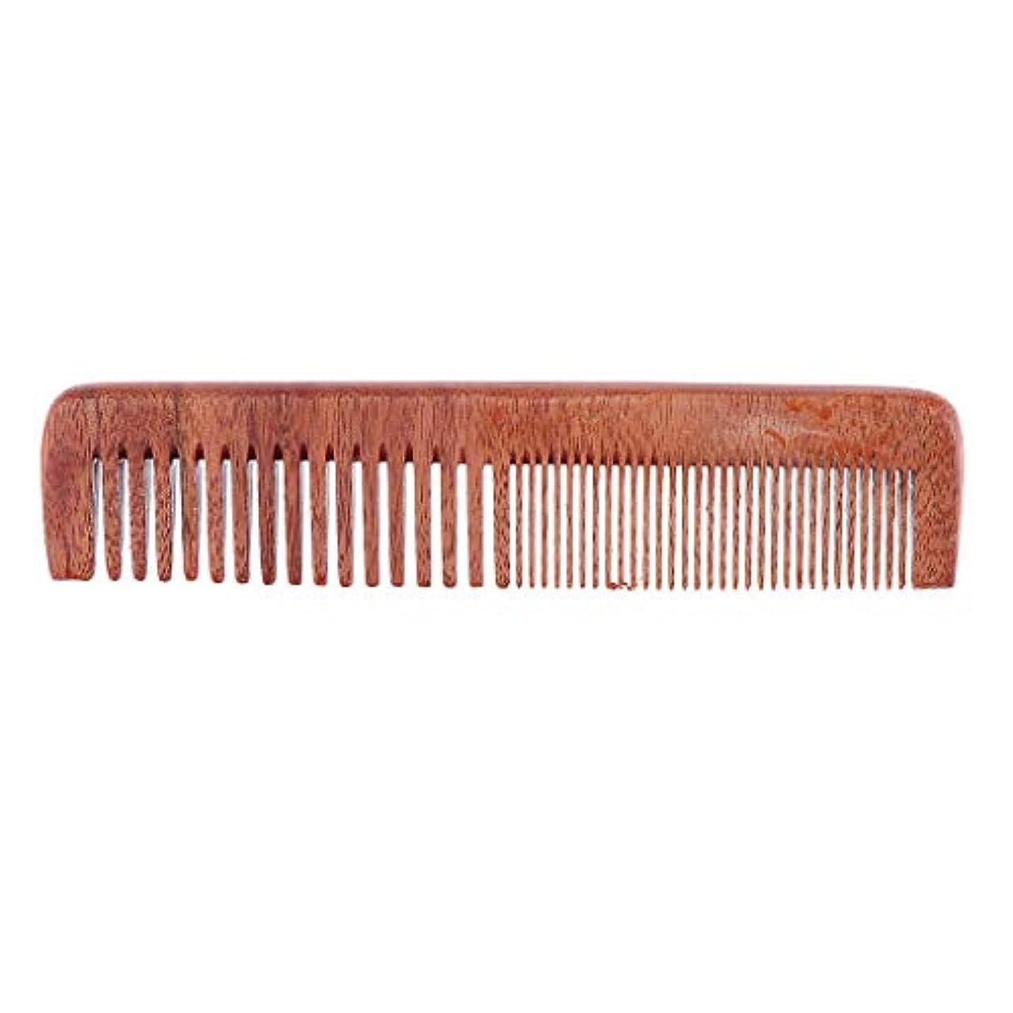 展望台感じ圧倒するヘアコーム 木製櫛 ヘアブラシ 帯電防止櫛