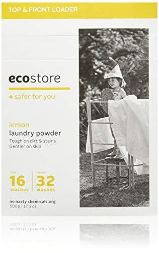ecostore エコストア ランドリーパウダー 【レモン】 500g 洗濯用 粉末 洗剤