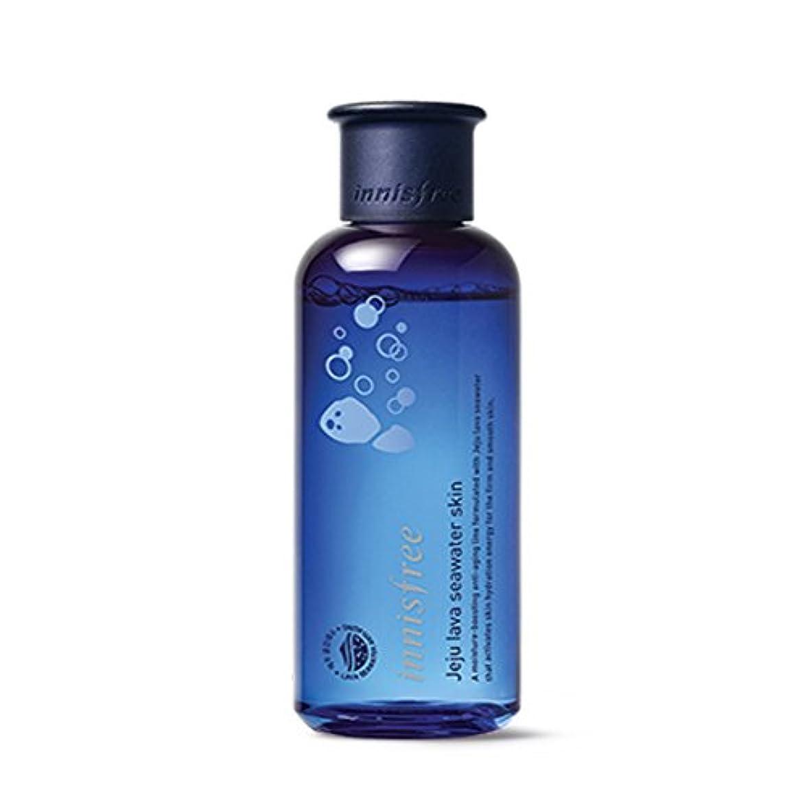 失態普通に対応イニスフリージェジュラブシーウォータースキン(トナー)200ml Innisfree Jeju Lava Seawater Skin(Toner) 200ml [外直送品][並行輸入品]