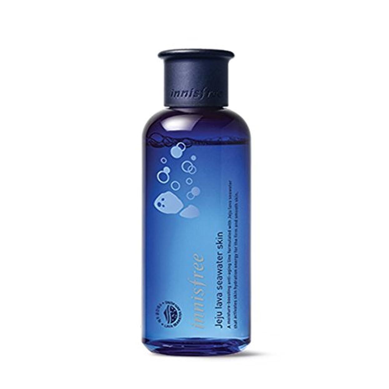 ピニオン小包漏れイニスフリージェジュラブシーウォータースキン(トナー)200ml Innisfree Jeju Lava Seawater Skin(Toner) 200ml [外直送品][並行輸入品]