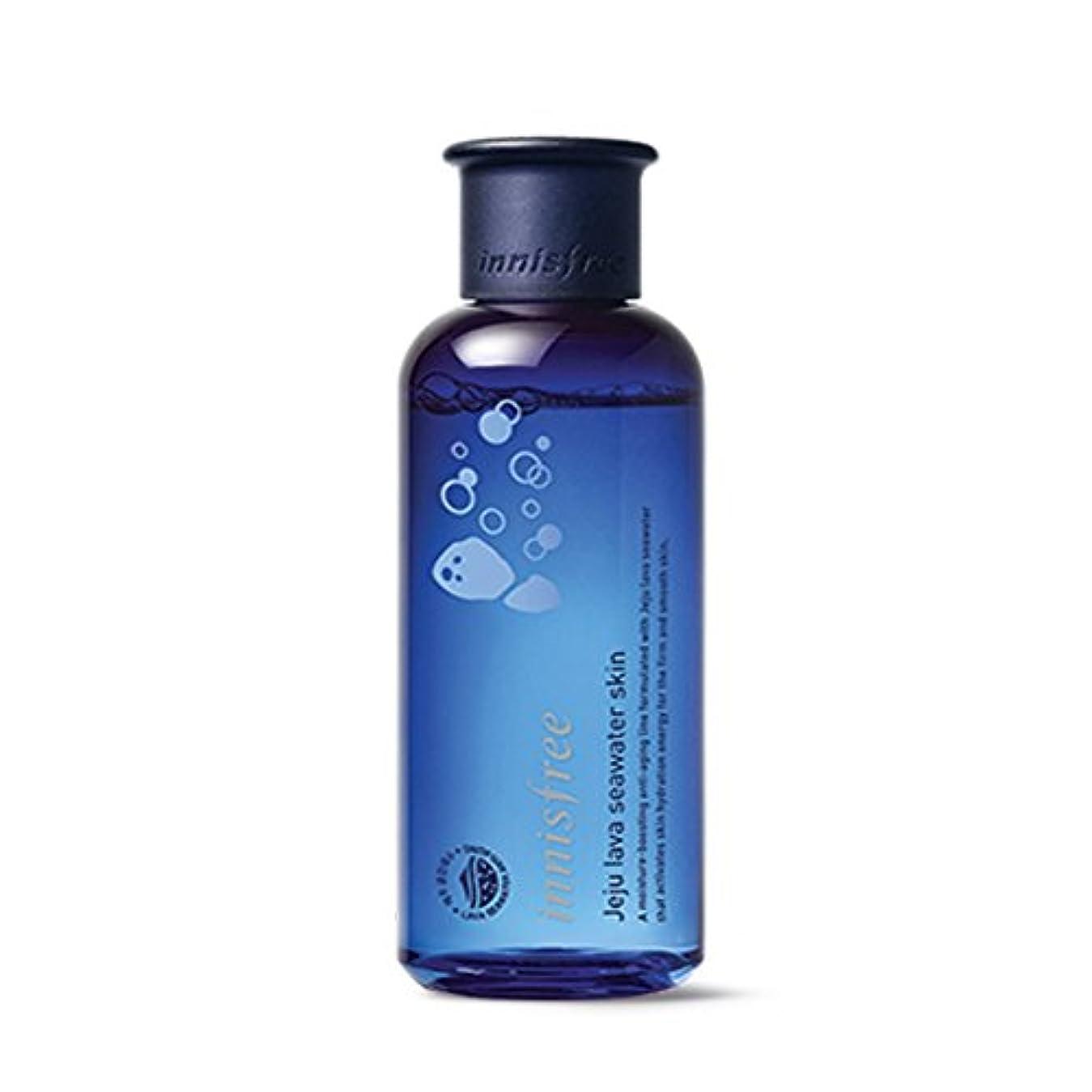 理容師サスペンド差イニスフリージェジュラブシーウォータースキン(トナー)200ml Innisfree Jeju Lava Seawater Skin(Toner) 200ml [外直送品][並行輸入品]