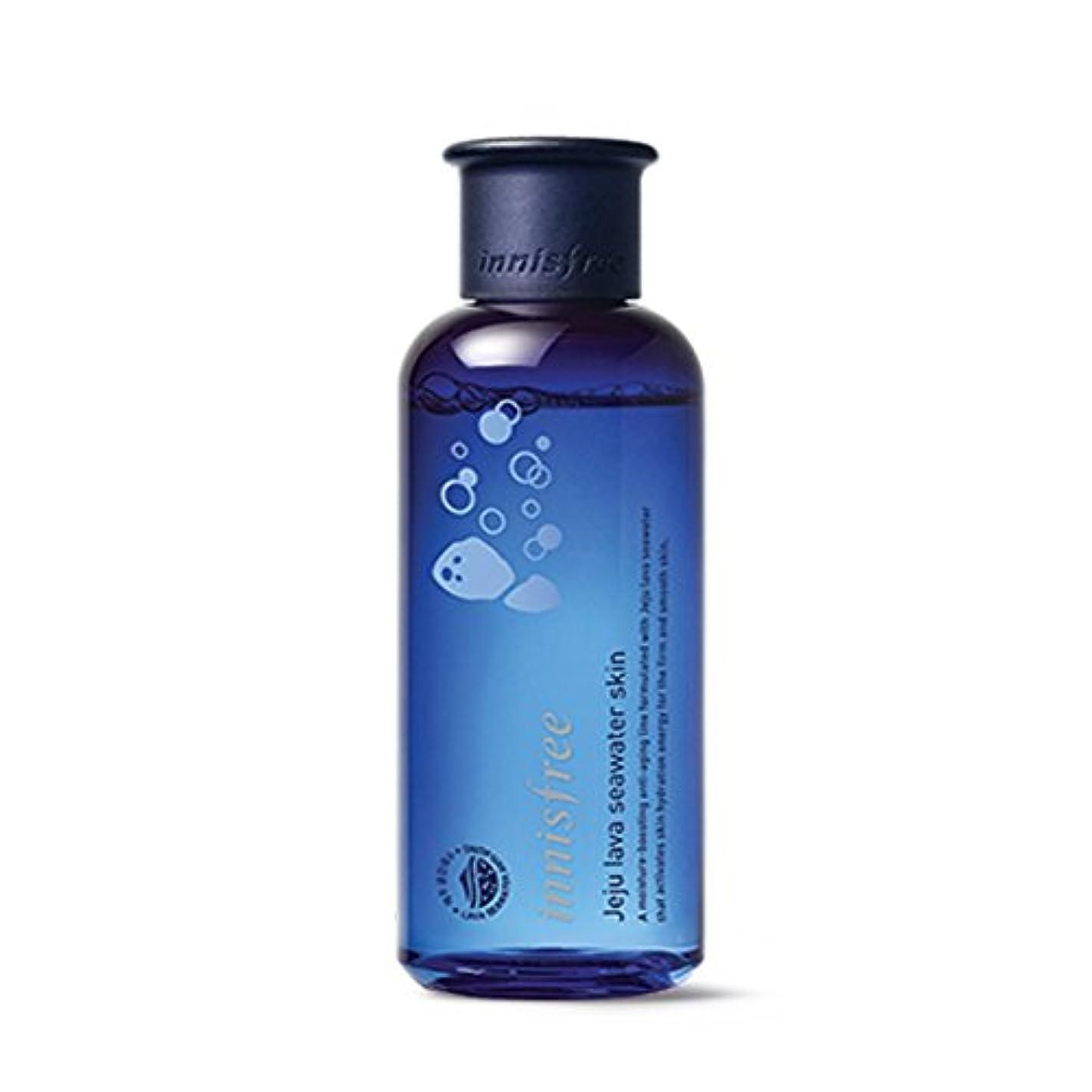 手荷物悲鳴お肉イニスフリージェジュラブシーウォータースキン(トナー)200ml Innisfree Jeju Lava Seawater Skin(Toner) 200ml [外直送品][並行輸入品]