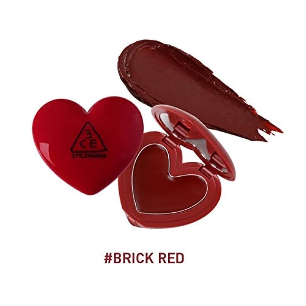 かもしれない適用済みサイレン3CE ハート ポットリップ / HEART POT LIP (1.4g) (BRICK RED) [並行輸入品]