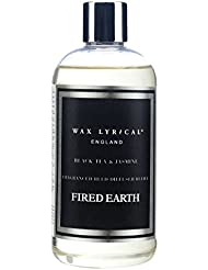 WAX LYRICAL ENGLAND FIRED EARTH リードディフューザー用リフィル 250ml ブラックティー&ジャスミン CNFE0404