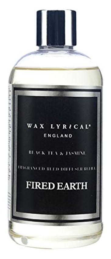 ラリーベルモント計り知れない芸術的WAX LYRICAL ENGLAND FIRED EARTH リードディフューザー用リフィル 250ml ブラックティー&ジャスミン CNFE0404