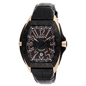 [フランクミュラー]FRANCK MULLER 腕時計 コンキスタドールグランプリ ブラック文字盤 8900SCDTGPGBLKSTRAP5 メンズ 【並行輸入品】