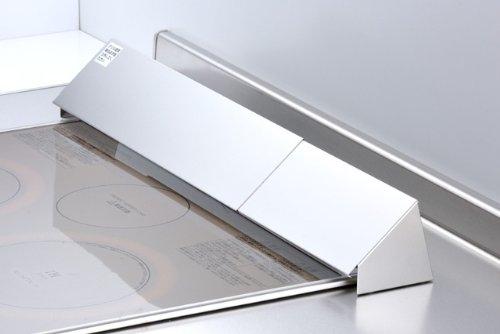 ステンレス レンジスライド排気口カバー 43~82.5cmまで 33641 お掃除しにくいグリルの排気口をカバー!汚れを防ぎます!